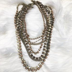 Chico's Multilayered Statement Necklace